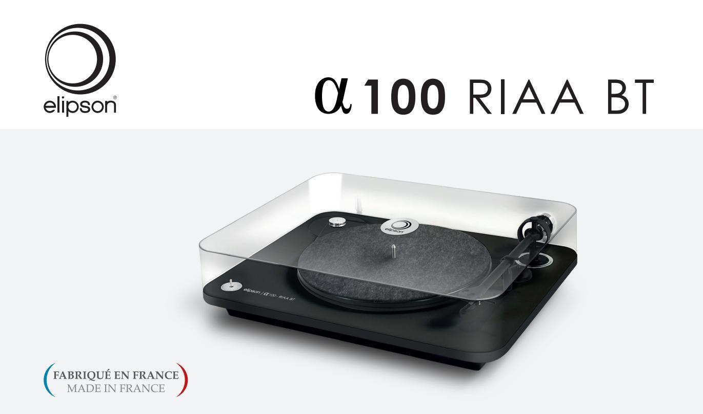 Elipson Alpha 100 RIAA BT USB