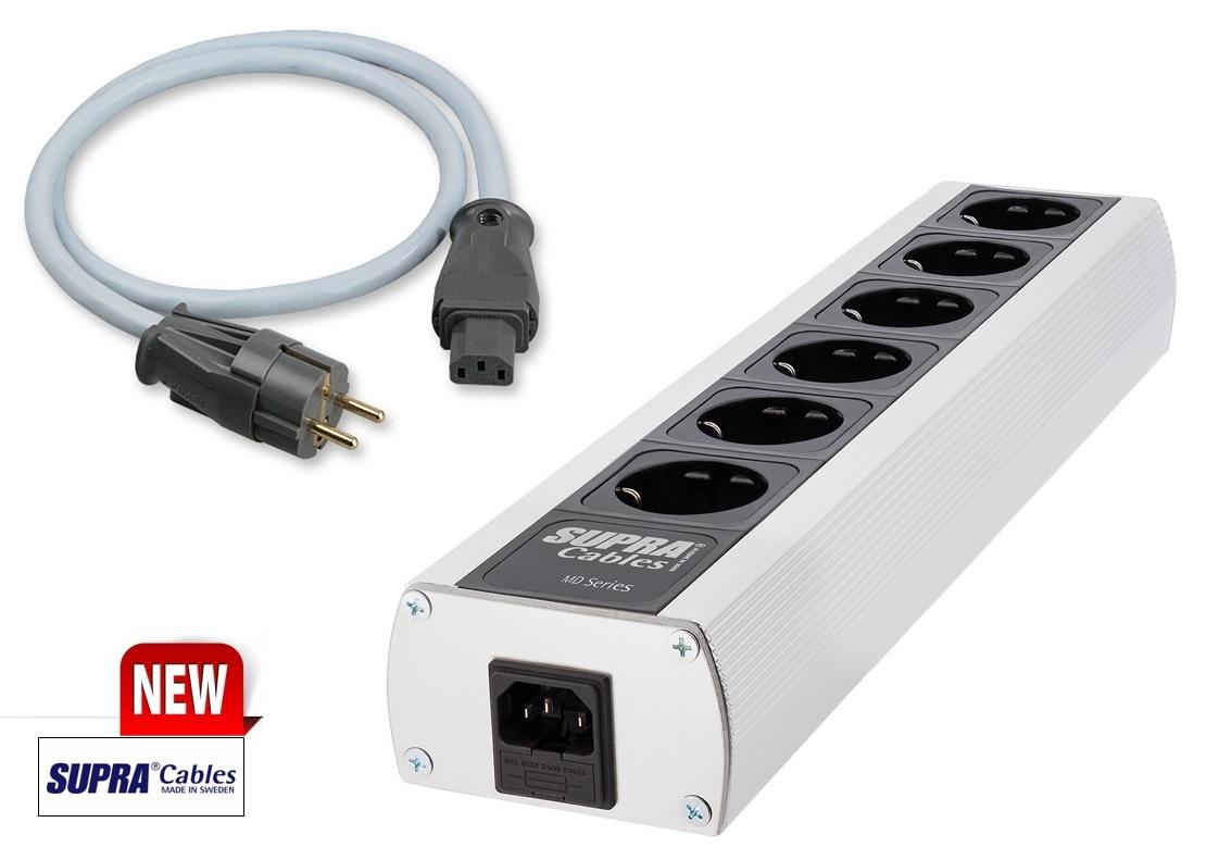 Supra Cables SUPRA MAINS BLOCK MD06-EU Mk3.1 + SUPRA LoRad 2.5 CS-EU