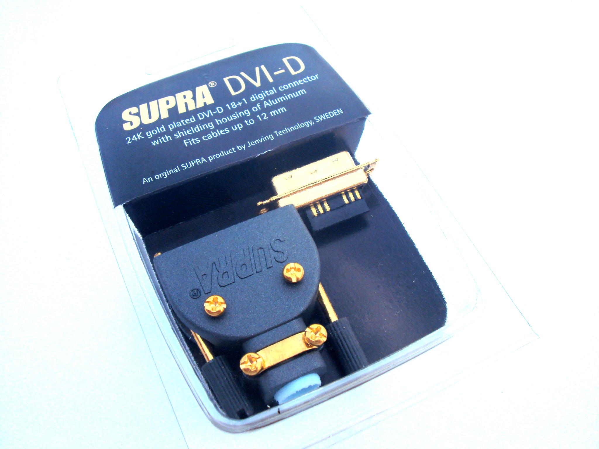 SUPRA DVI-D/M PLUG 18+1