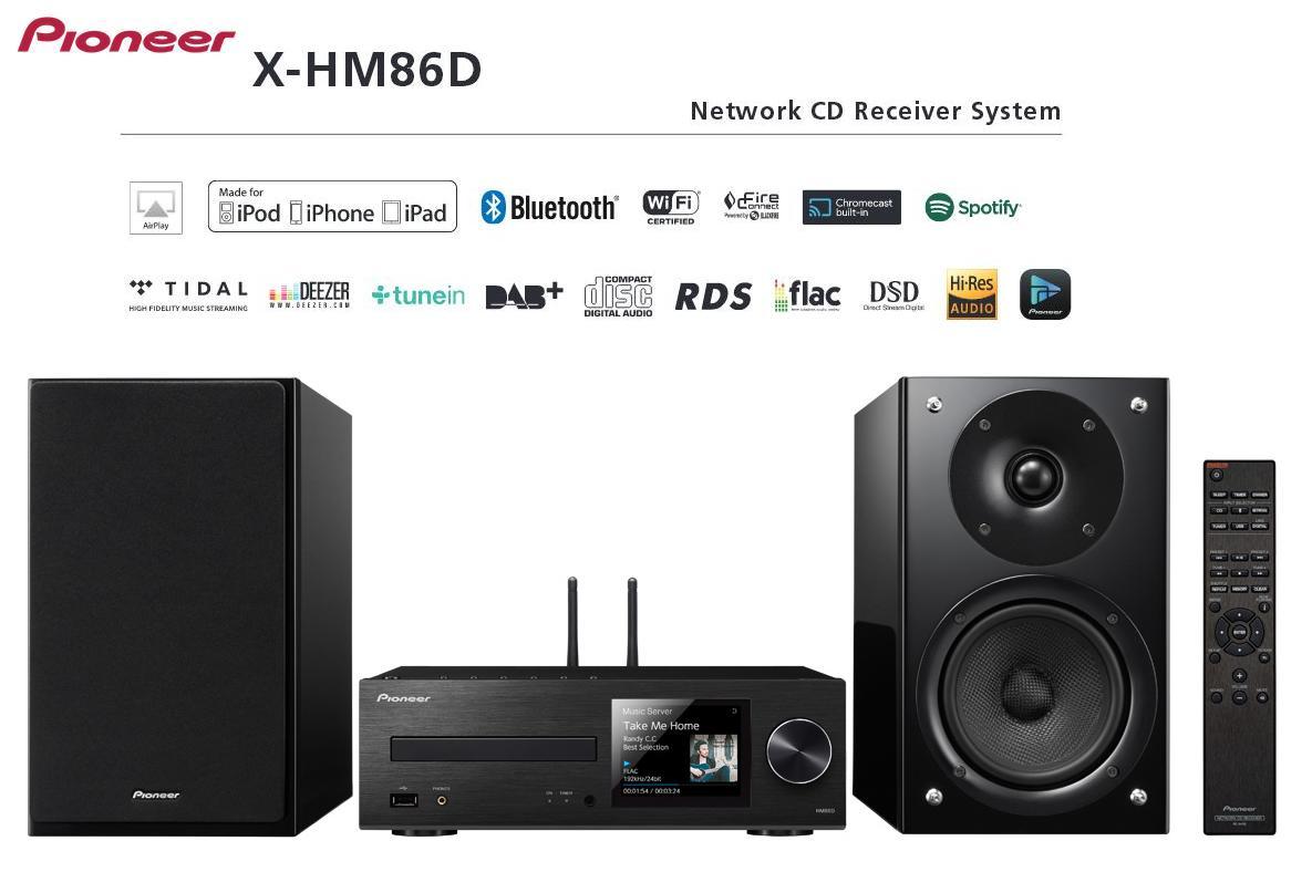 Pioneer X-HM86D *** CZ ZÁRUKA *** Barevné provedení: černé