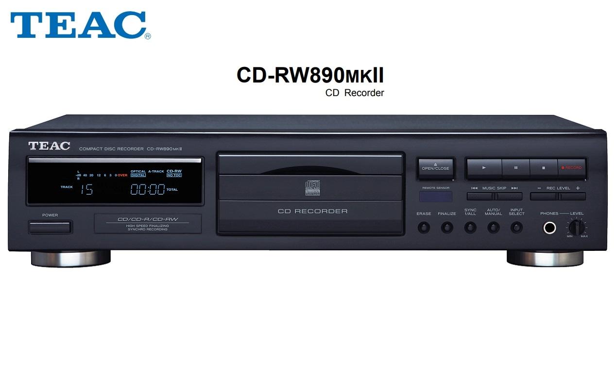 TEAC CD-RW890MKII
