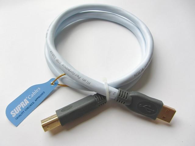 SUPRA USB 2.0 Cable 1,0m