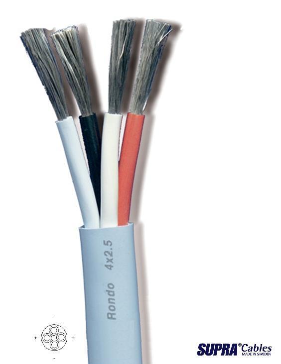 Supra Cables SUPRA Rondo 4x2.5