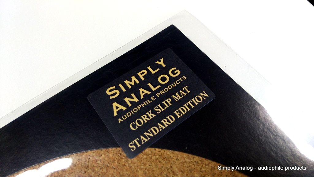 Simply Analog - CORK SLIP MAT Standard Edition
