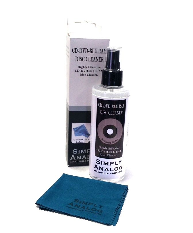 Simply Analog - CD-DVD-BLURAY DISC CLEANER