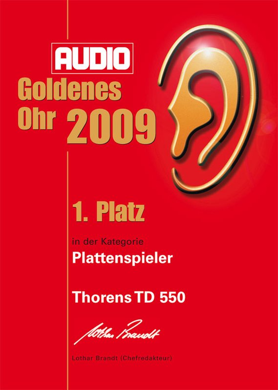 Thorens TD 550 Barevné provedení: makassar