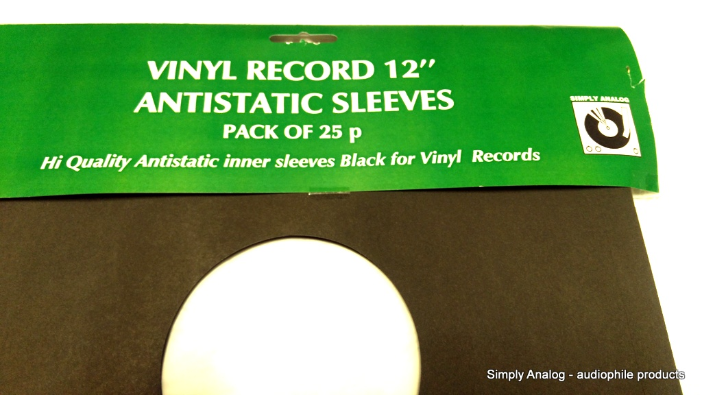 "Simply Analog - 12"" ANTISTATIC SLEEVES"
