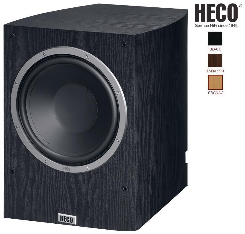 Heco Victa Prime Sub 252 A Barevné provedení: černá - black