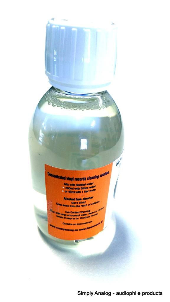Simply Analog - VINYL CLEANER CONCENTRATED  200ml