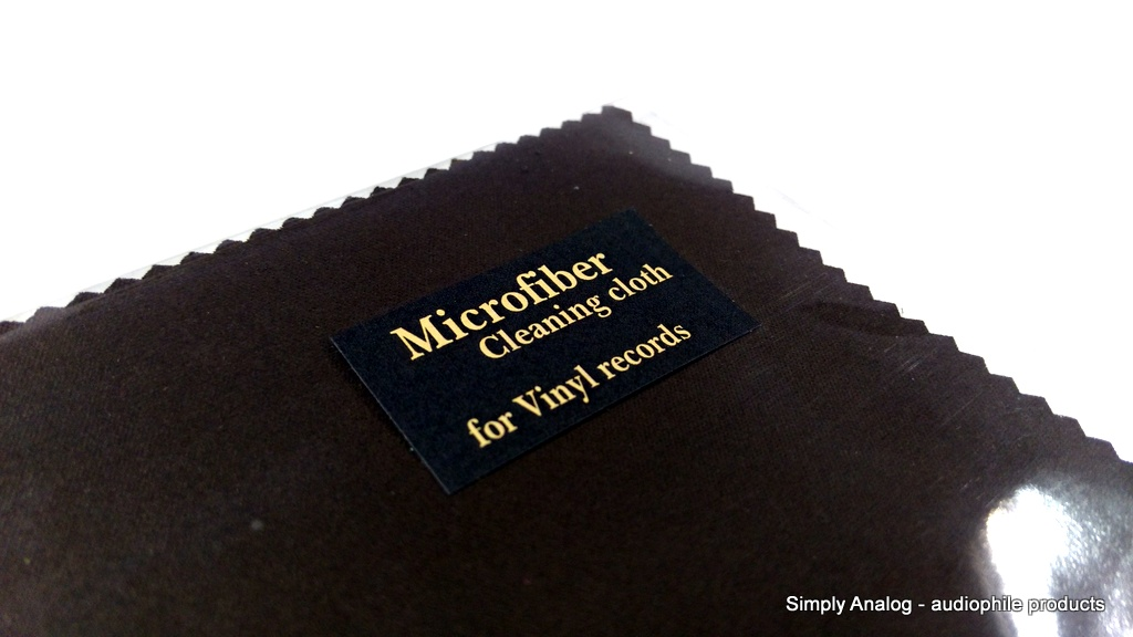 Simply Analog - Microfiber Cleaning cloth for VINYL RECORDS