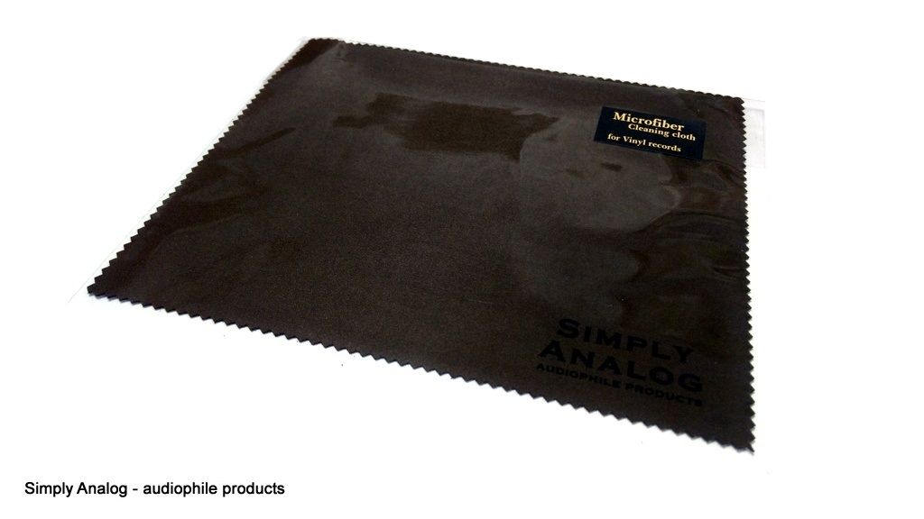 Simply Analog - Microfiber Cloth For VINYL RECORDS