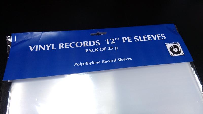 """Simply Analog - 12"""" PE SLEEVES"""