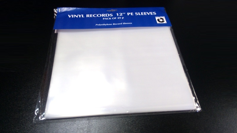 "Simply Analog - 12"" PE SLEEVES"