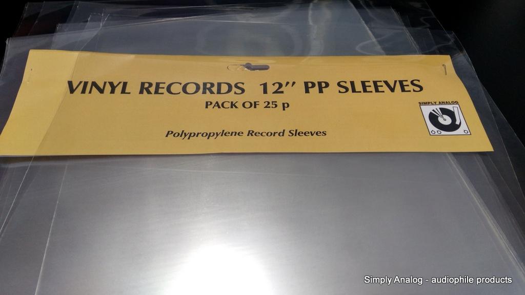 """Simply Analog - 12"""" PP SLEEVES"""