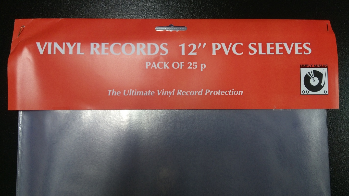 "Simply Analog - 12"" PVC SLEEVES"