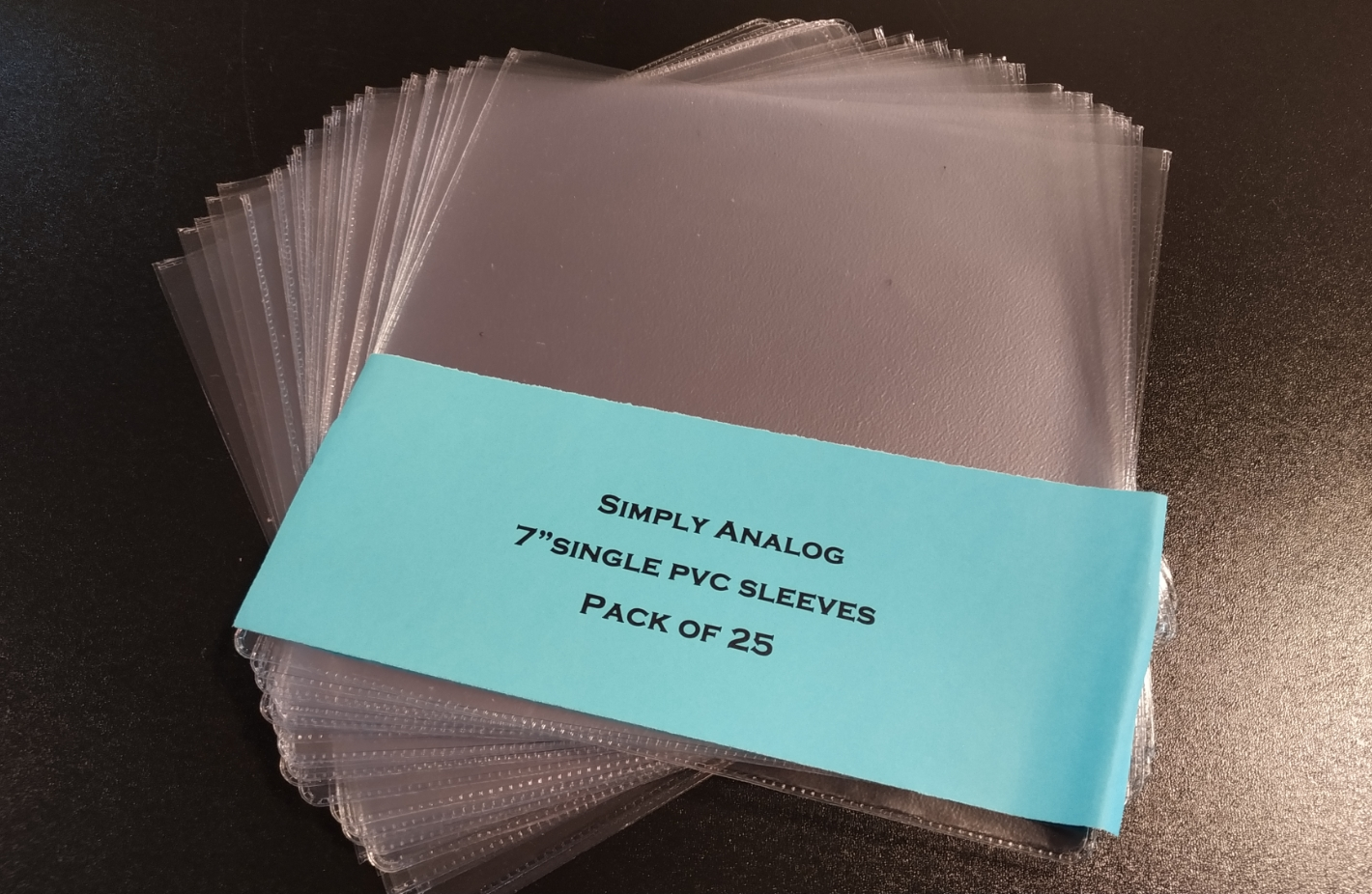 "Simply Analog - 7"" SINGLE PVC SLEEVES"