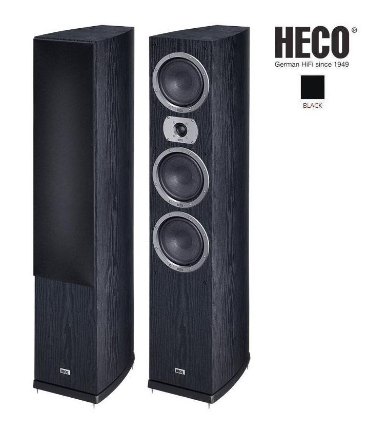 Heco Victa Prime 702 + reprokabel 2x2,0m Barevné provedení: černá - black