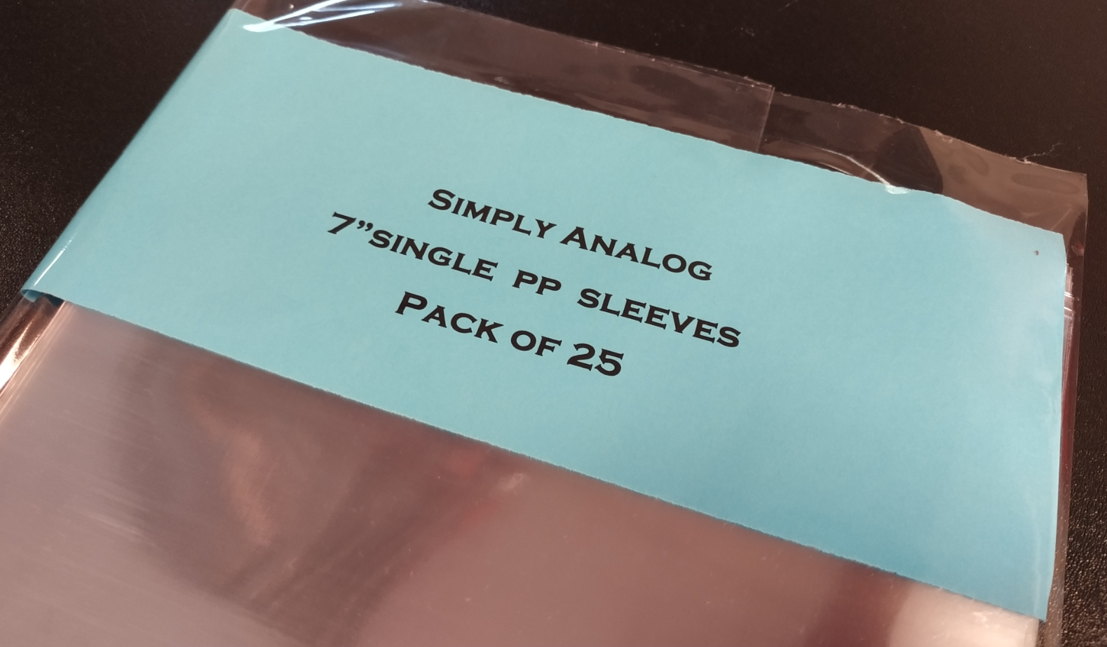 "Simply Analog - 7"" SINGLE PP SLEEVES"