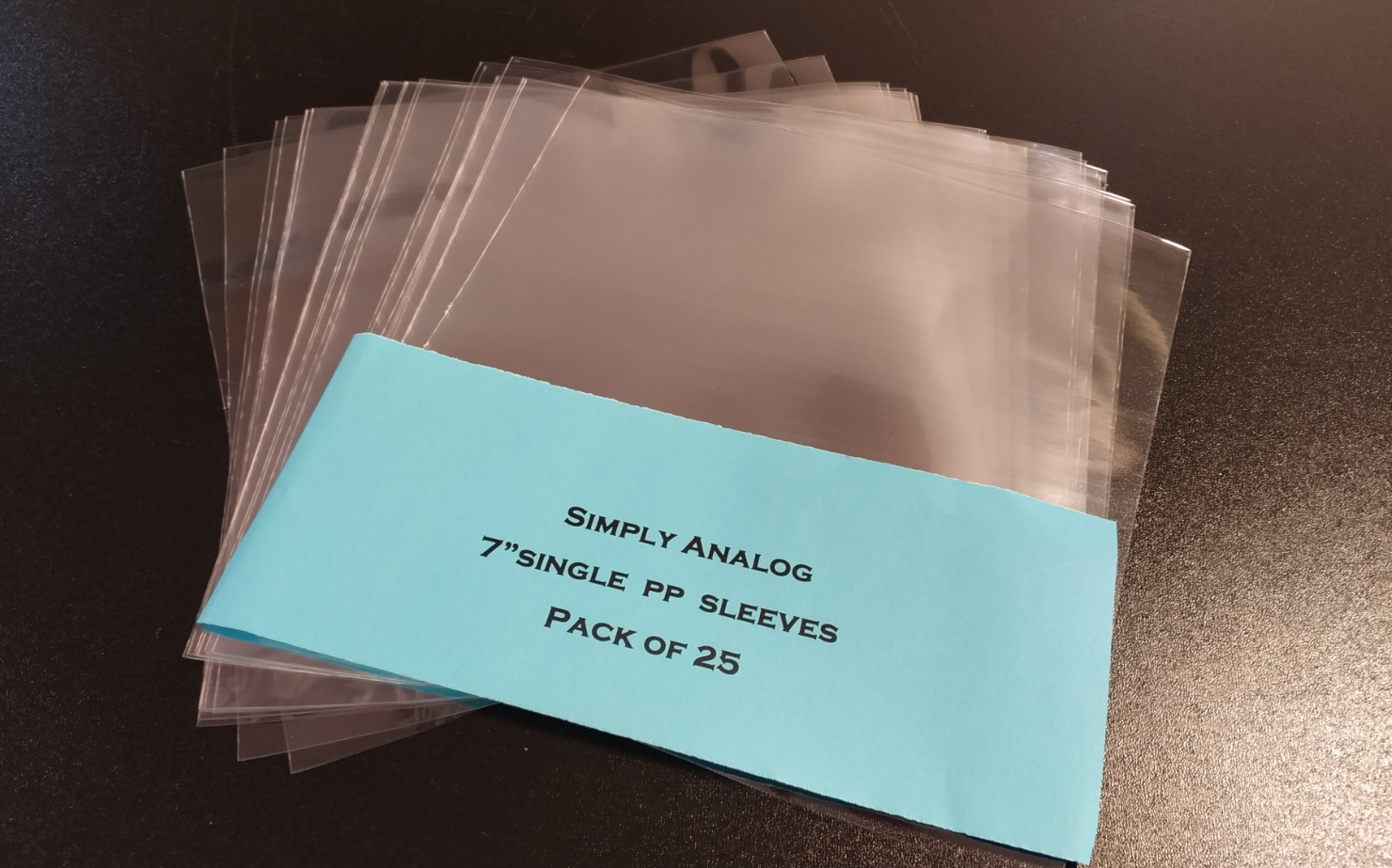 "Simply Analog - 7"" SINGLE PP SLEEVES"