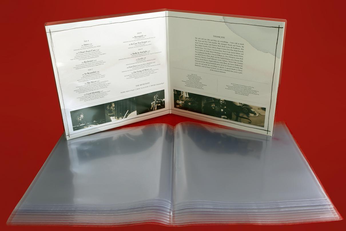 Simply Analog - Vinyl Record Gatefold (2LP) PVC Sleeves