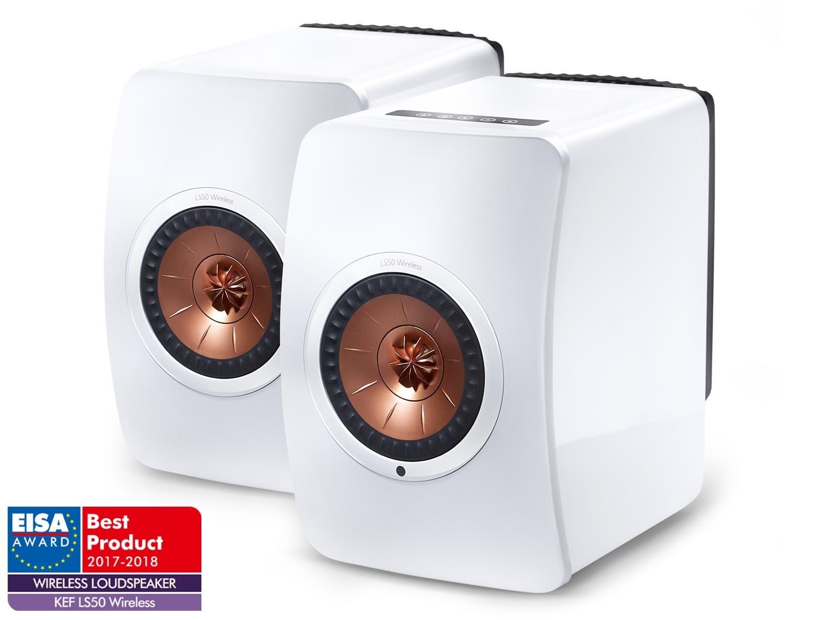 KEF LS50 Wireless Barevné provedení: bílé
