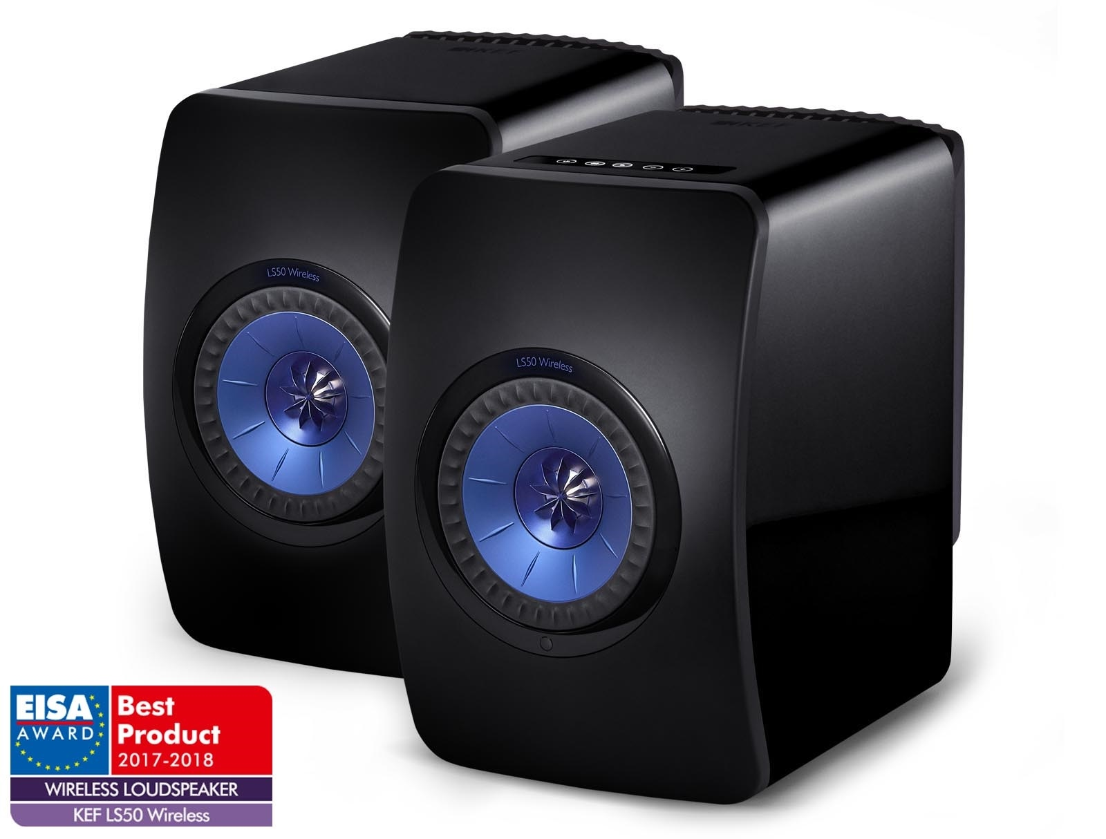 KEF LS50 Wireless Barevné provedení: černé