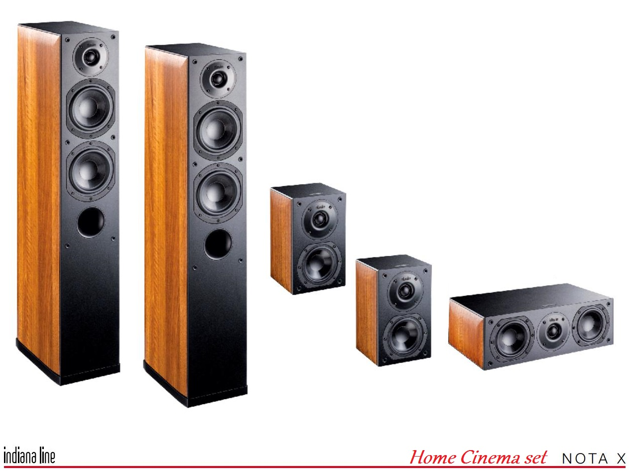 Indiana Line NOTA X Home Cinema set 5.0