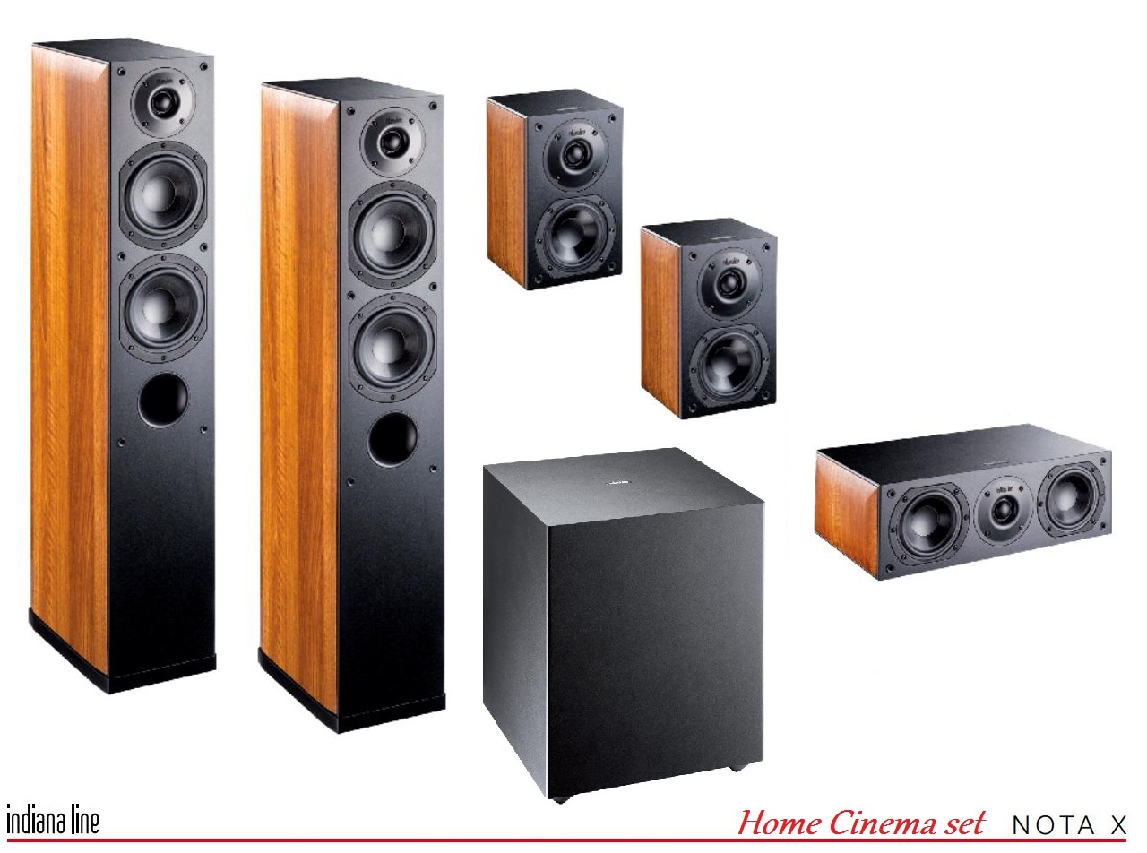Indiana Line NOTA X Home Cinema set 5.1