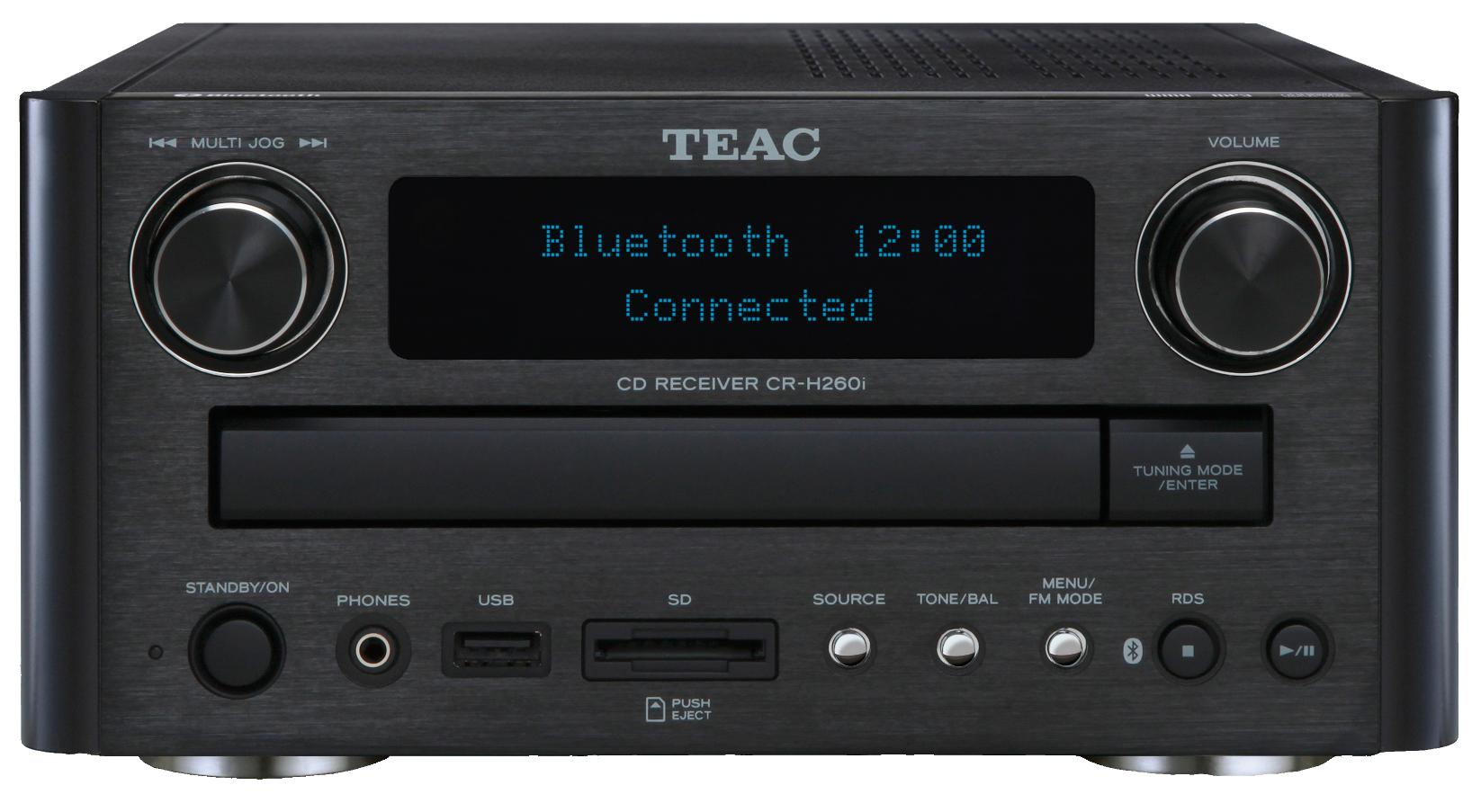 TEAC CR-H260i Black
