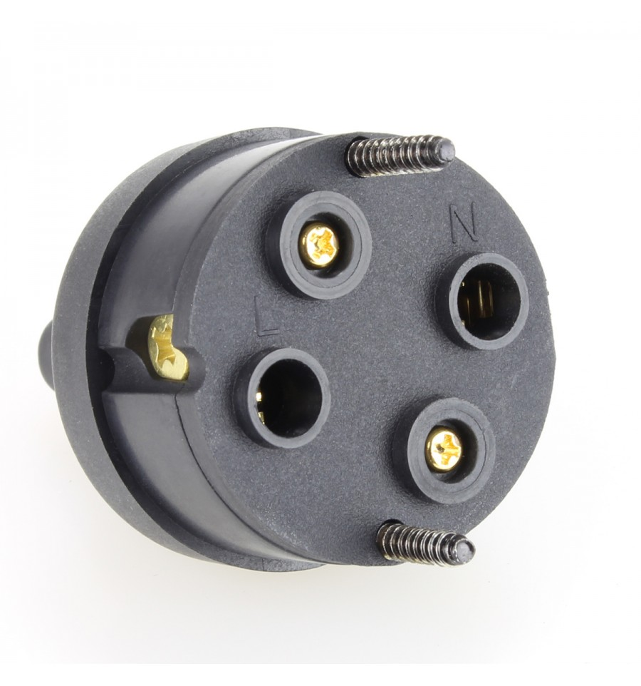 ELECAUDIO RI-07GB Hi-Fi Grade Power Plug C7