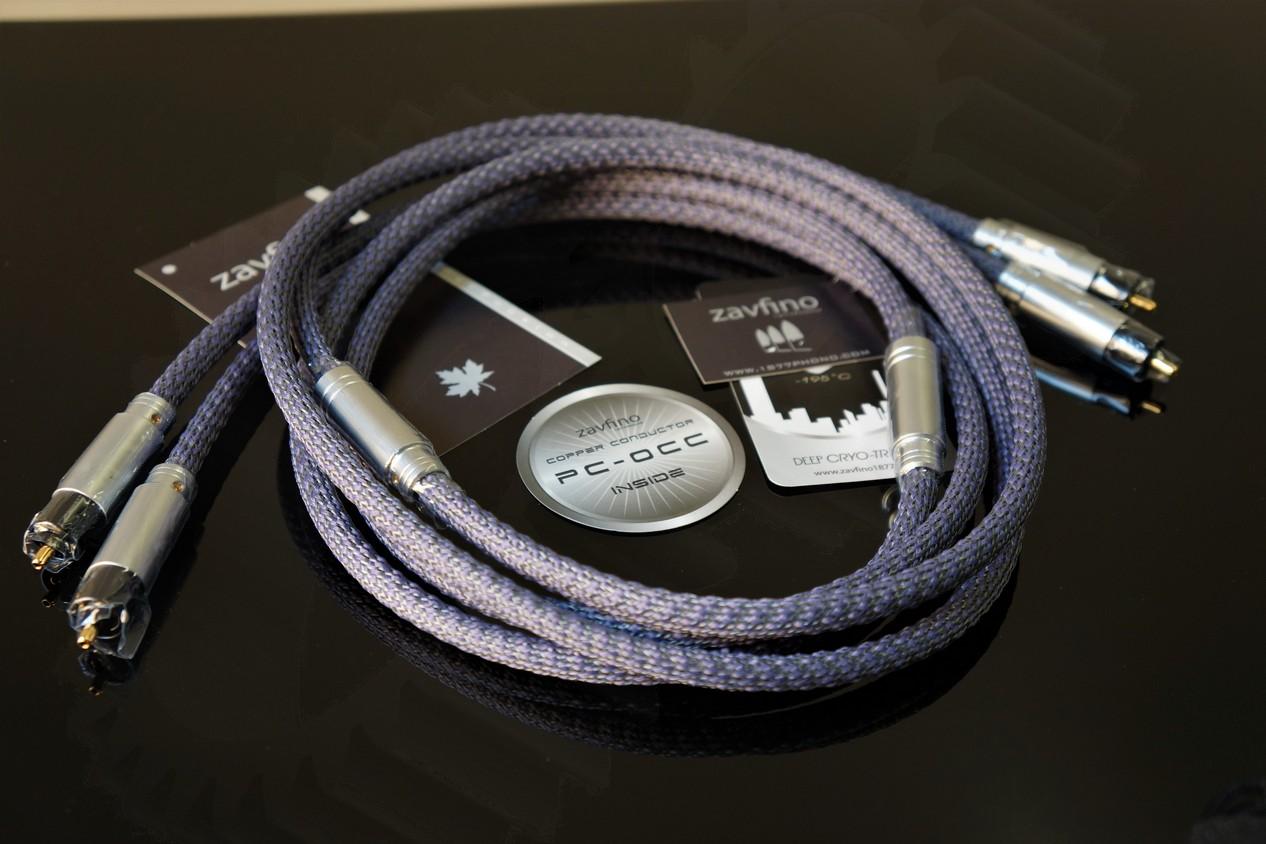 1877PHONO Zavfino - ARCADIA MKI Interconnect Cable OCC RCA-RCA 1.5m