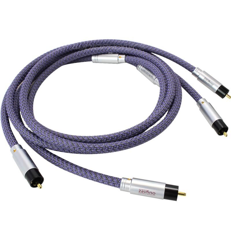 1877PHONO Zavfino - ARCADIA MKII Interconnect Cable OCC RCA-RCA 1.5m