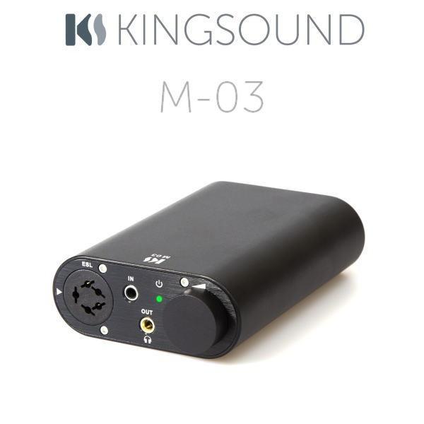 Kingsound M-03 Barevné provedení: černé