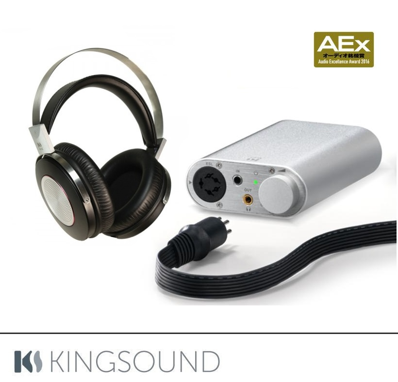 Kingsound KS-H2 + M-03 Barevné provedení: stříbrné