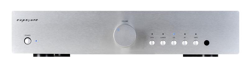 Exposure 1010 Integrated Amplifier Barevné provedení: stříbrná - titan