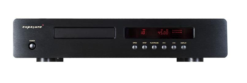 Exposure 3010S2 CD Player Barevné provedení: černé