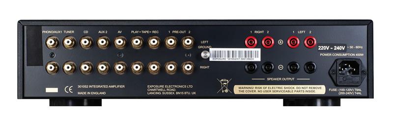 Exposure 3010S2D Integrated Amplifier Barevné provedení: černé