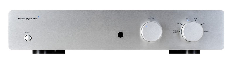 Exposure 3010S2D Pre Amplifier Barevné provedení: černé
