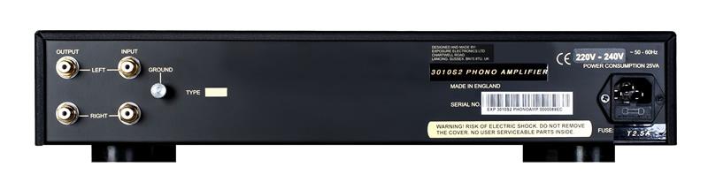 Exposure 3010S2 Phono Amplifier Barevné provedení: stříbrné
