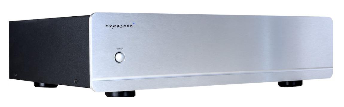 Exposure 3010S2 Stereo Power Amplifier Barevné provedení: stříbrné