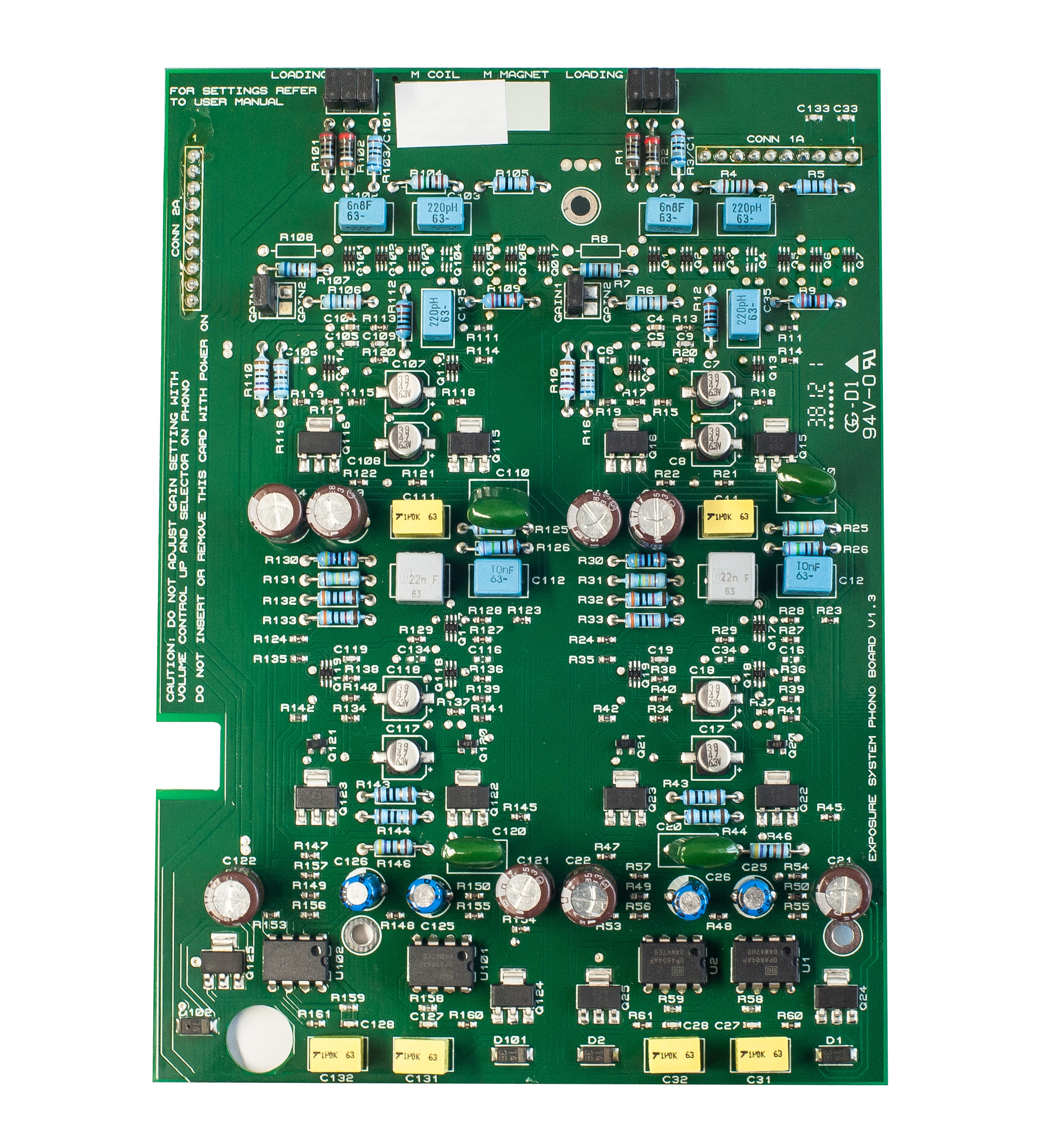 Exposure 3010S2D MC Board
