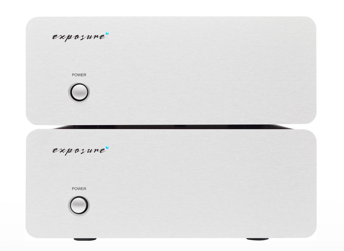 Exposure XM9 Mono Power Amplifier Barevné provedení: stříbrné