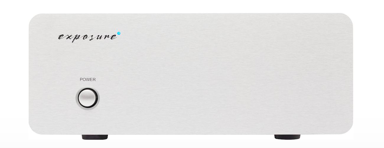Exposure XM3 PHONO AMPLIFIER Barevné provedení: stříbrné