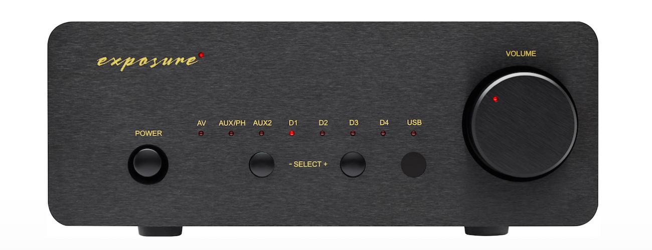 Exposure XM7 PRE AMPLIFIER Barevné provedení: černé