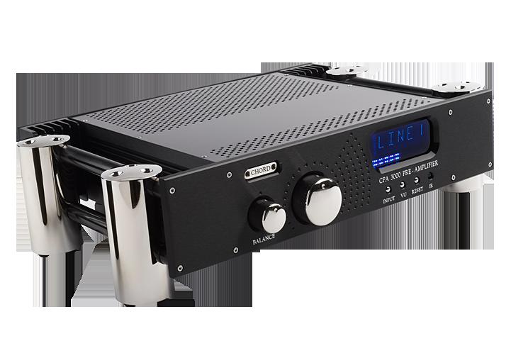 Chord Electronics CPA3000 Barevné provedení: černé