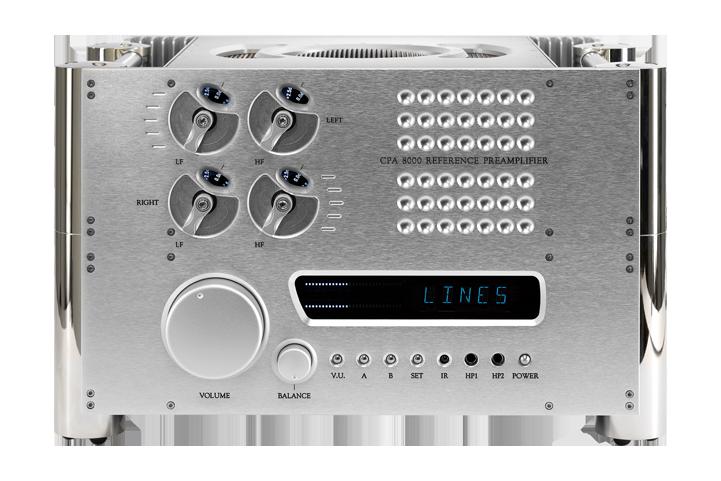 Chord Electronics CPA 8000 Barevné provedení: stříbrné