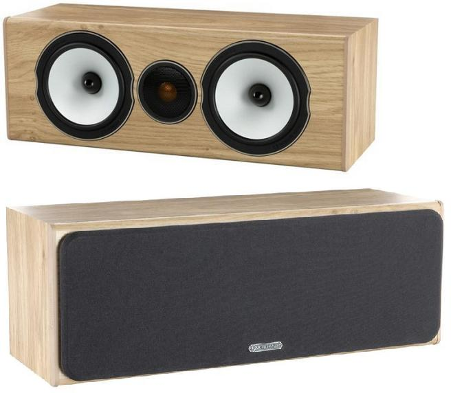 Monitor Audio Bronze BX Centre Barevné provedení: natural oak - přírodní dub