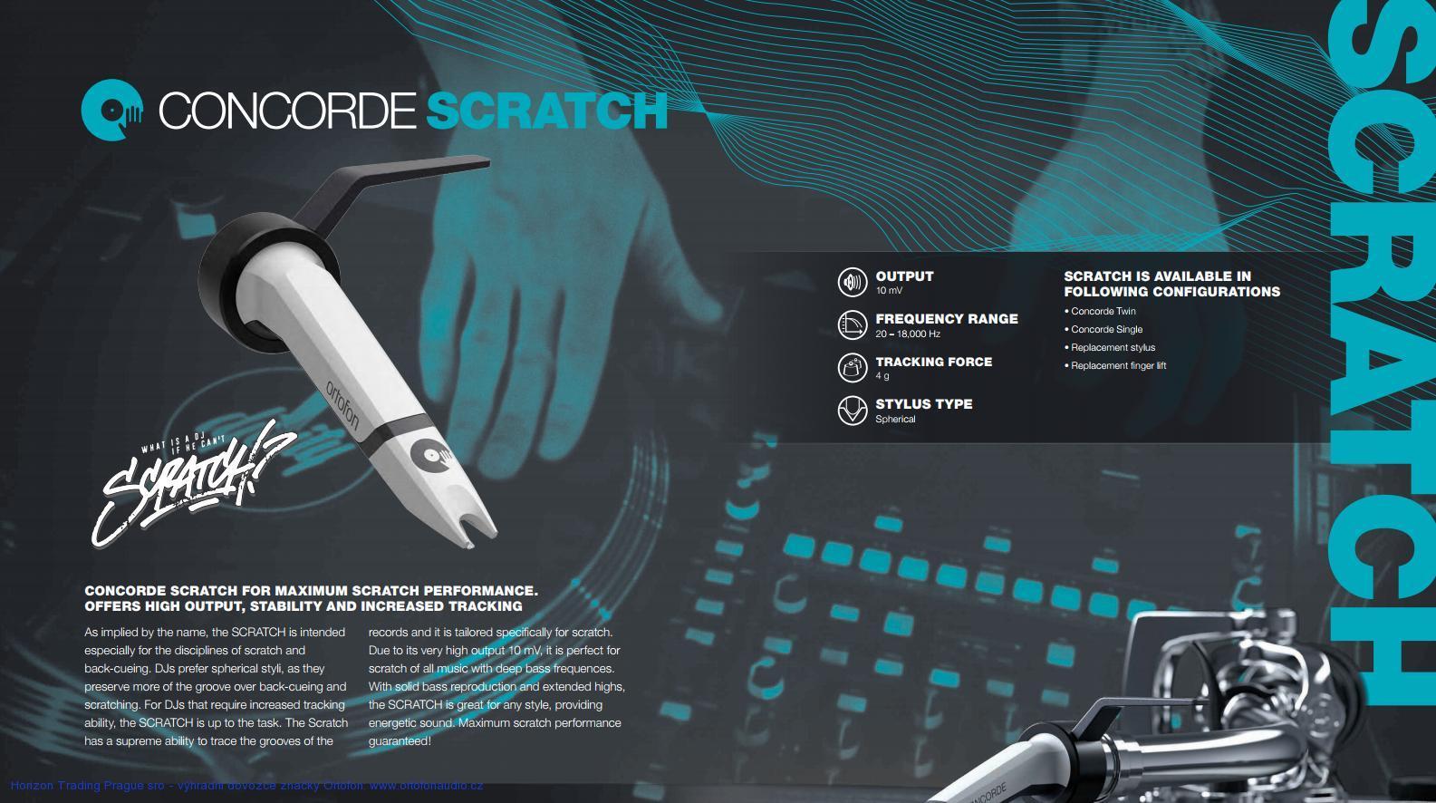 Ortofon Stylus MkII SCRATCH