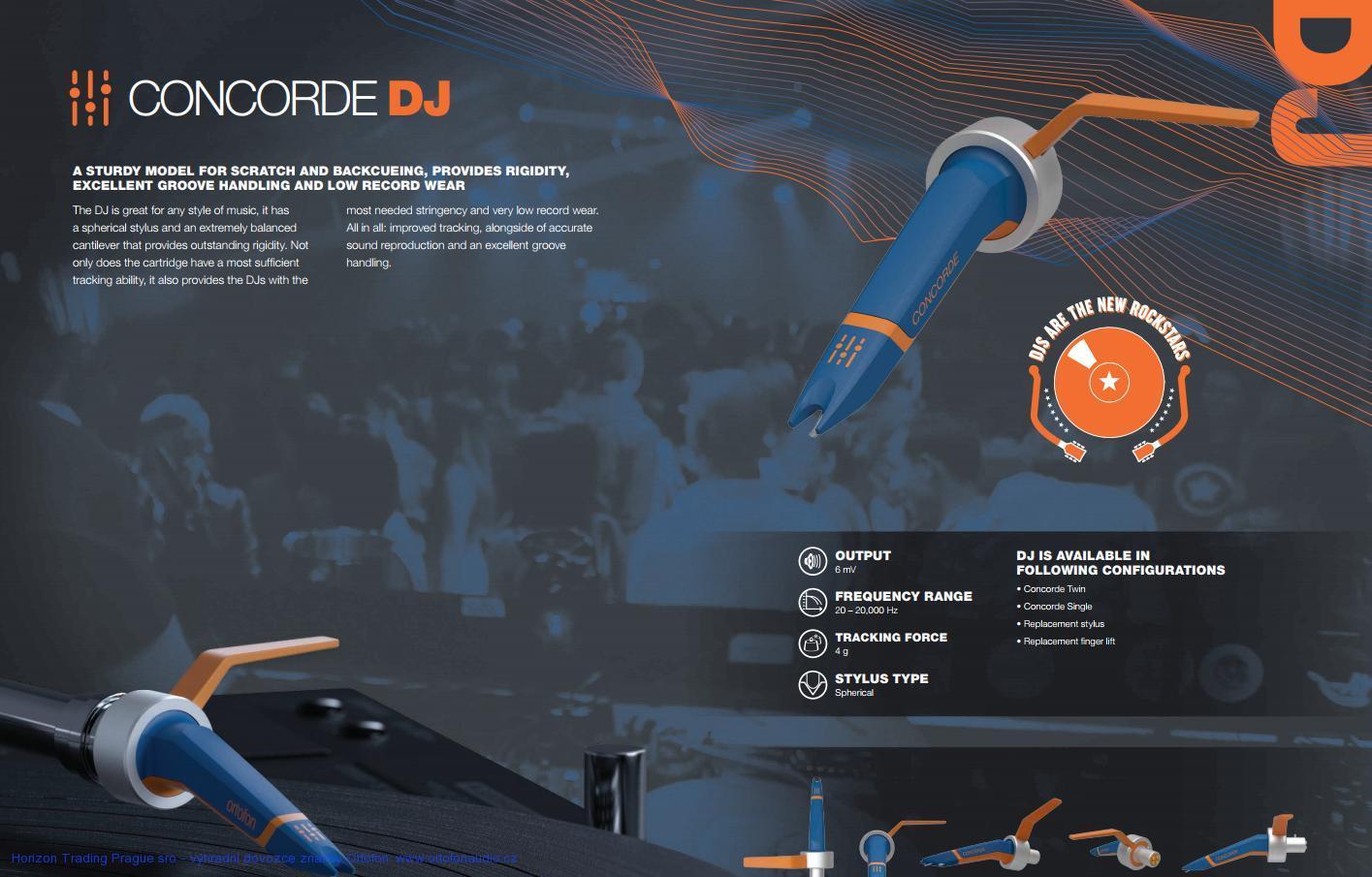 Ortofon Concorde MkII DJ