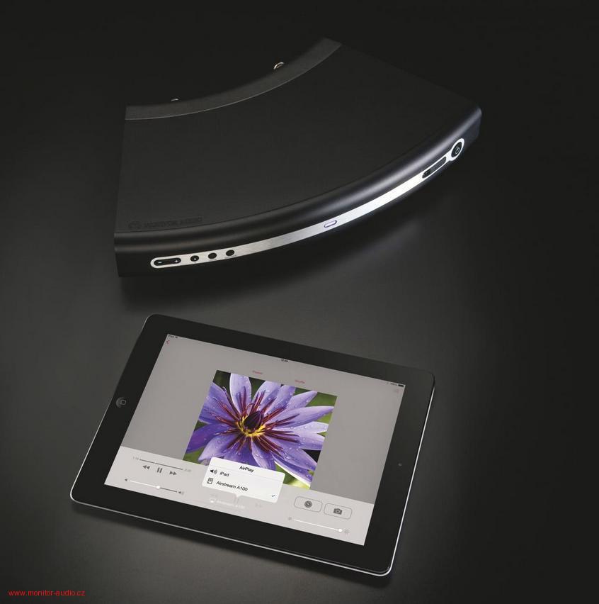 Monitor Audio A 100 Barevné provedení: černé